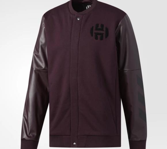 Adidas James Harden Varsity Jacket CE4699 Mens XXL NWT